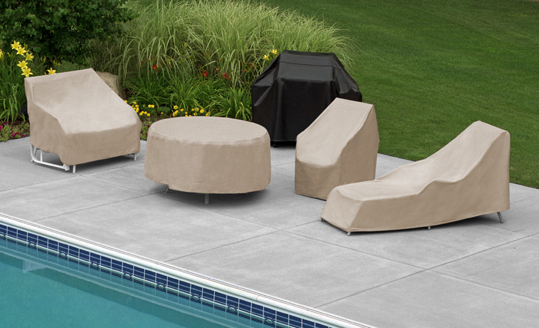Charming Safeguard Your Backyard Furniture With Furniture Covers